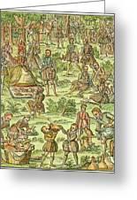 Elizabeth I, 1533-1603 Greeting Card