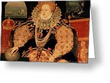 Elizabeth I Armada Portrait Greeting Card