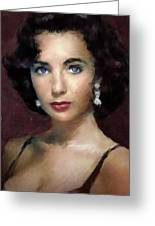 Elizabeth Taylor 3 Greeting Card