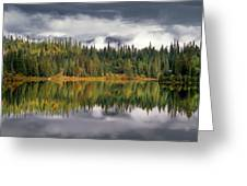 Elk Lake Greeting Card