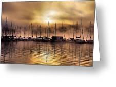 Elk Lake Morning  Greeting Card