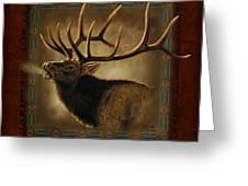 Elk Lodge Greeting Card by JQ Licensing