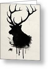 Elk Greeting Card
