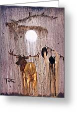Elk Spirit Greeting Card