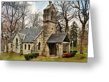 Elkhart Illinois Chapel Greeting Card