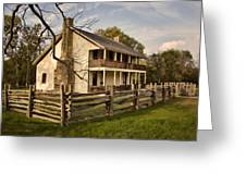 Elkhorn Tavern Greeting Card by Lana Trussell