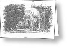 Ellaville, Ga - 1 Greeting Card
