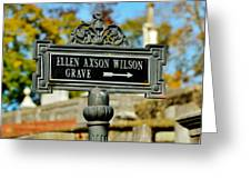 Ellen Axson Wilson Greeting Card