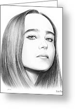 Ellen Page Greeting Card