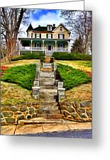 Ellicott City House Greeting Card