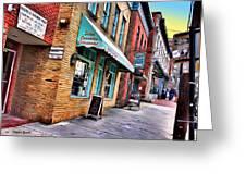 Ellicott City Shops Greeting Card