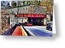 Ellicott City Greeting Card