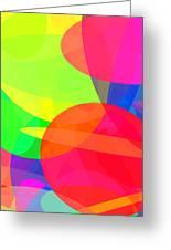 Ellipses 11 Greeting Card