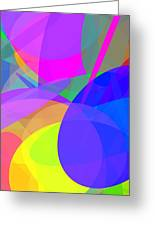 Ellipses 13 Greeting Card