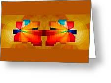 Elliptical Iridescence Greeting Card