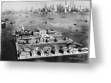 Ellis Island, 1933 Greeting Card
