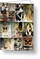 Ellora And Ajanta Caves Greeting Card