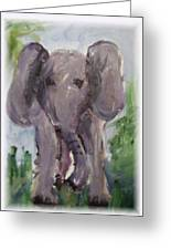 Elly Phant Greeting Card