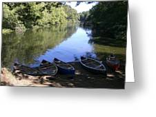 Elm Bank - Boats Greeting Card