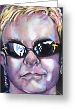 Elton John Painting By Misty Smith