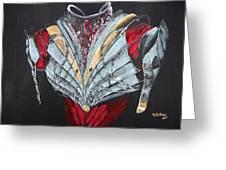Elven Armor Greeting Card