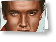 Elvis 24 1958 Greeting Card