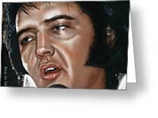 Elvis 24 1975 Greeting Card