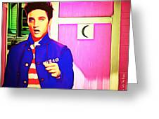 Elvis Has Left The House 20151225 Square Greeting Card
