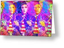 Elvis Presley Jail House Rock 20160520 Horizontal Greeting Card