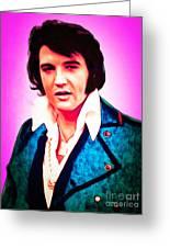 Elvis Presley The King 20160117 Greeting Card