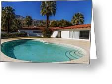 Elvis Presley's Palm Springs Home Greeting Card