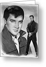 Elvis Roustabout Greeting Card