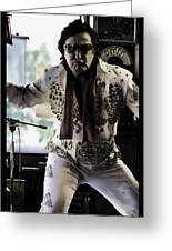 Elvis....sort Of Greeting Card