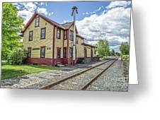 Ely Vermont Train Station Greeting Card