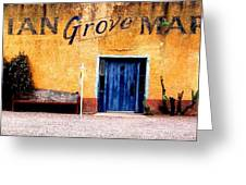 Elysian Grove Market 1 Greeting Card