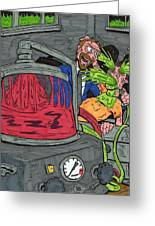 Embalmer Greeting Card by Anthony Snyder