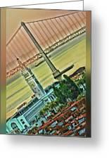 Embarcadero Horizon Greeting Card