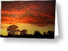 Embossed Sunrise Greeting Card