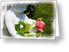 Embracing Angel Greeting Card