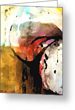 Embracing Secrets Panel One Of Two Greeting Card