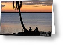 Embracing The Moment Greeting Card