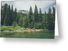 Emerald Bay Greeting Card by Margaret Pitcher