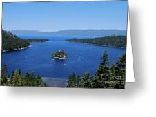 Emerald Bay Greeting Card