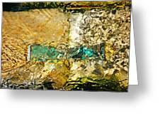 Emerald Bow Greeting Card