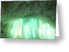 Emerald Cave - Grand Island On Lake Superior Greeting Card