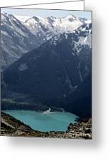 Emerald Cheakamus Lake Whistler Canada Greeting Card