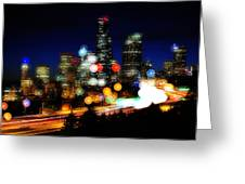 Emerald City Color Spots C060 Greeting Card