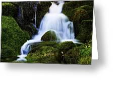 Emerald Falls Greeting Card