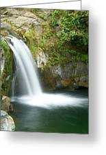 Emerald Falls Greeting Card