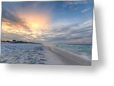 Emerald Gulf Greeting Card